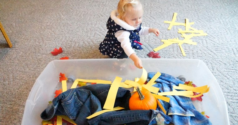 Quick, No Mess Fall Activity For Toddlers!