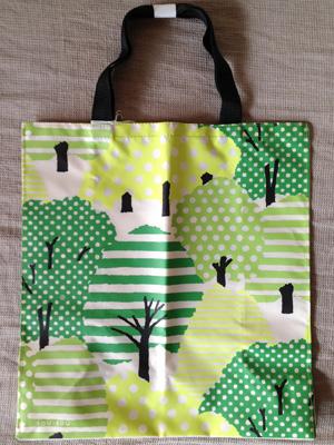 SOU・SOUデザインの大丸・松坂屋オリジナルエコバッグ「グリーン」