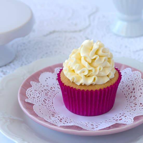 Vanilla Cream Cupcakes