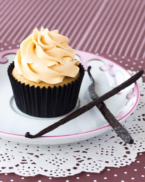Vanilla Kahlua Cupcake