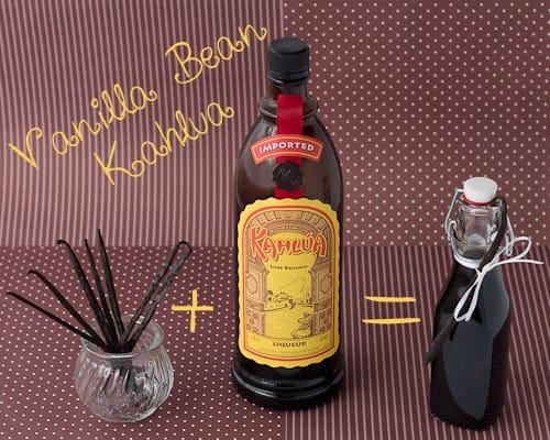 Make Your Own Vanilla Bean Kahlua