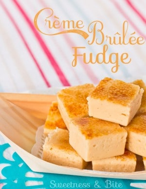 Creme Brulee Fudge