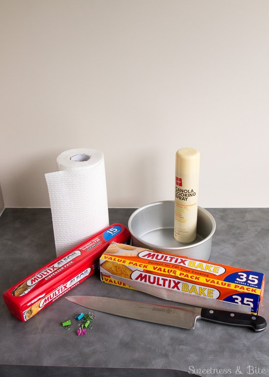 How to make Baking Strips ~ Supplies