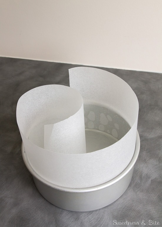 How to Line a Cake Tin ~ lining the sides