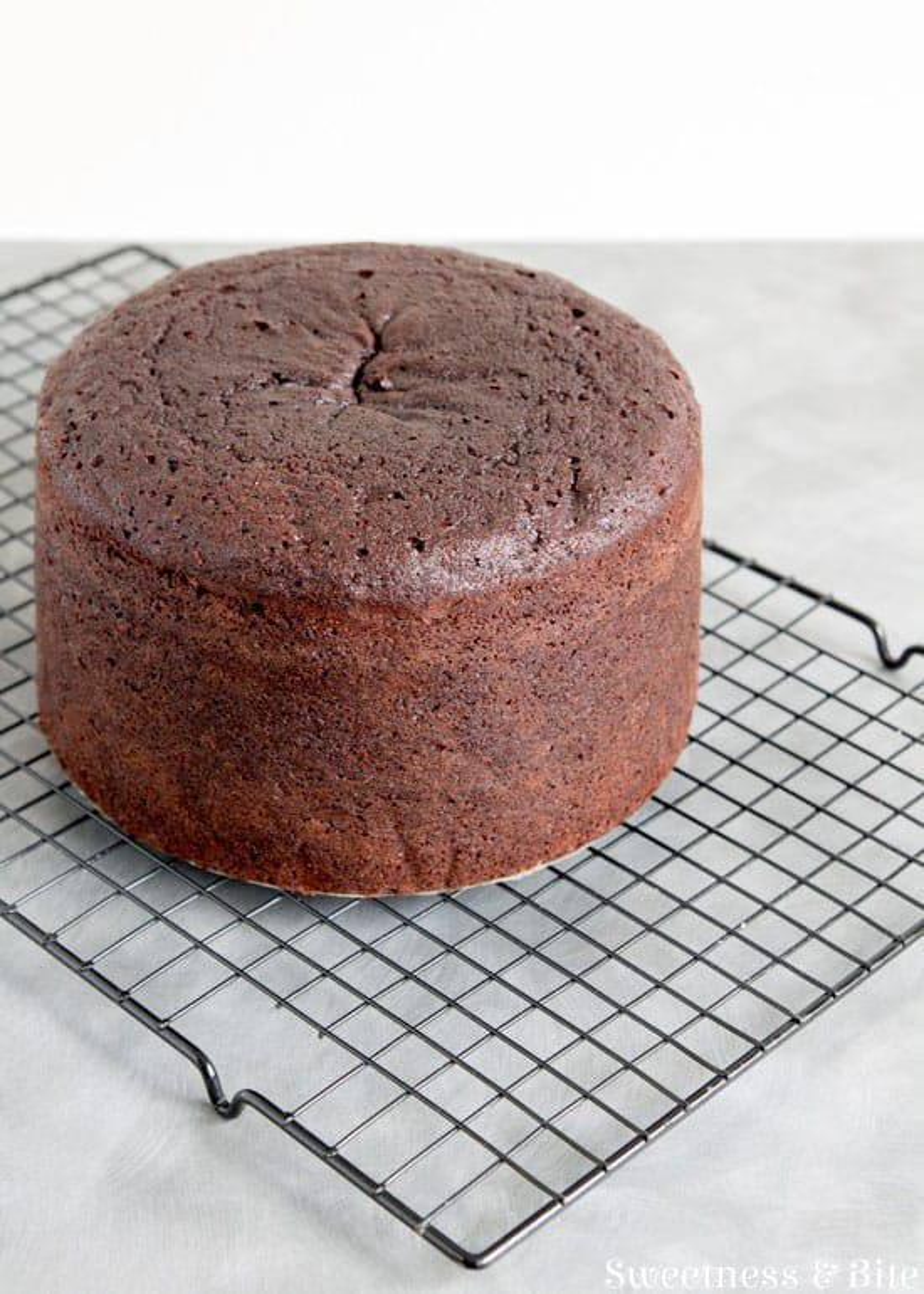 Gluten Free Toasted Almond Chocolate Cake ~ Sweetness & Bite