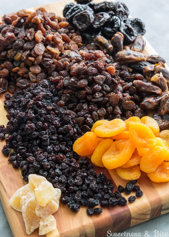 Gluten Free Fruit Cake Dried Fruits ~ Sweetness and Bite