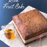 Gluten Free Fruit Cake ~ The Perfect Christmas Cake or Wedding Cake ~ Sweetness and Bite