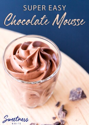 Super Easy, 3 Ingredient Chocolate Mousse ~ Sweetness and Bite