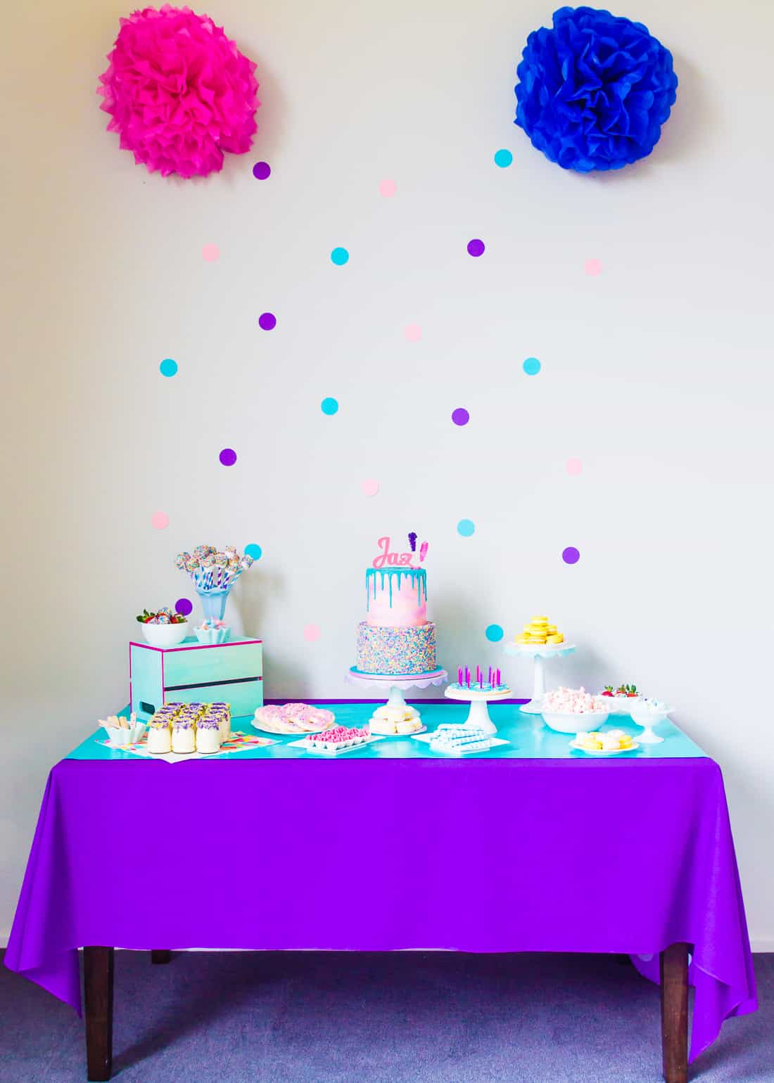 Tumblr-inspired Sprinkle Party Table