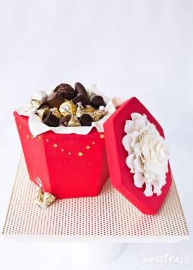 Chocolate Box Cake Tutorial ~ Sweetness & Bite