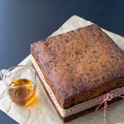 Gluten Free Fruit Cake (Christmas Cake)