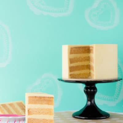 Gluten Free White Chocolate Mud Cake
