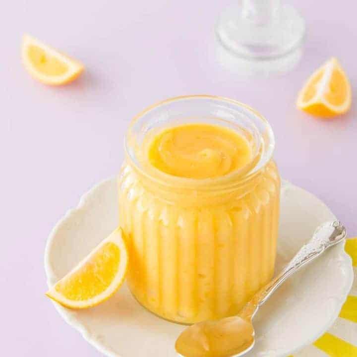 Easy Lemon Curd ~ Simple Microwave Lemon Curd Recipe by Sweetness & Bite
