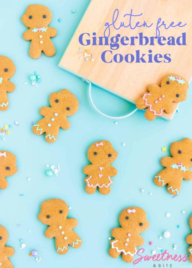 Easy Gluten Free Gingerbread Cookies ~ Sweetness & Bite