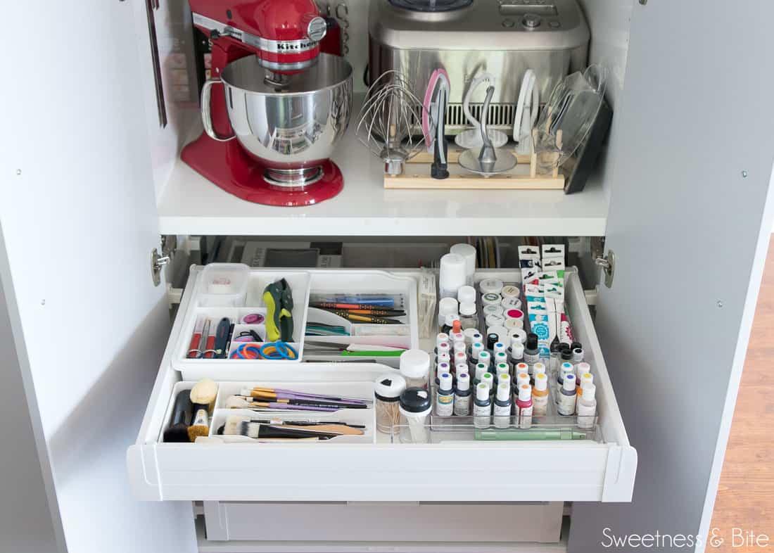 Cake Decorating Equipment Pantry