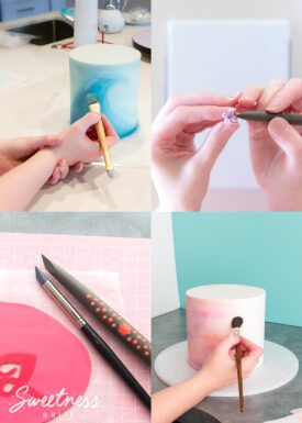 Tips for cake decorating with shaky hands