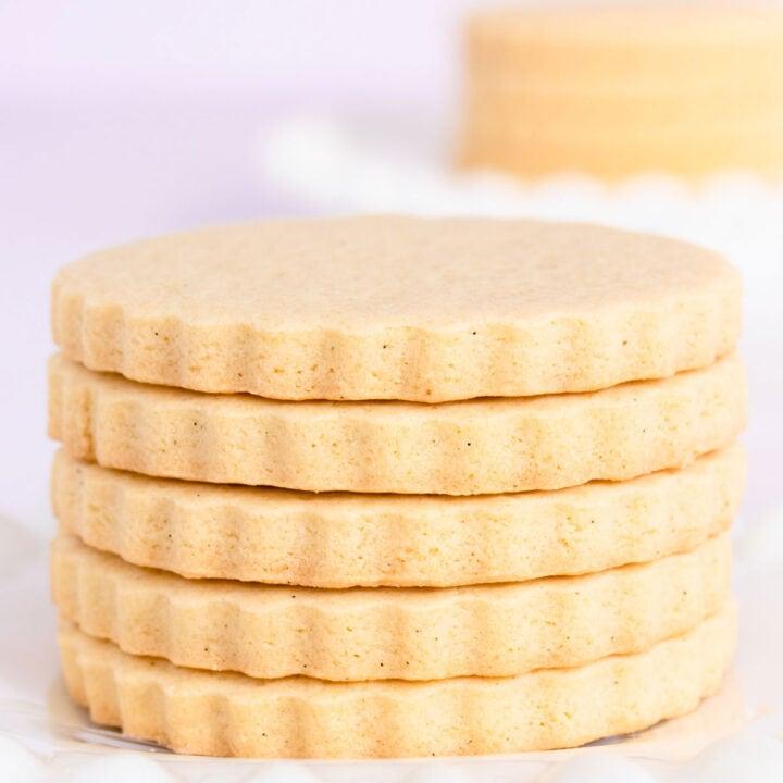 Gluten Free Vanilla Sugar Cookies