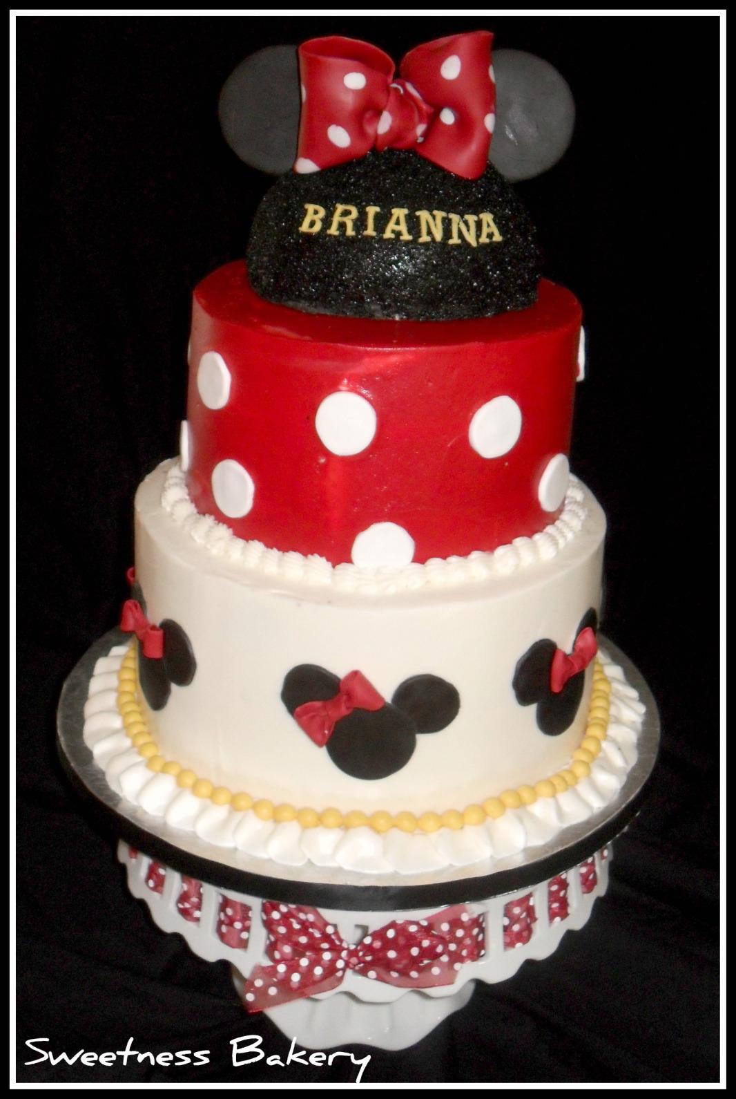 Mickey Minnie Lua Cake Ideas And Designs