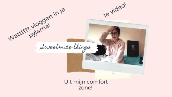 Allereerste vlog online!