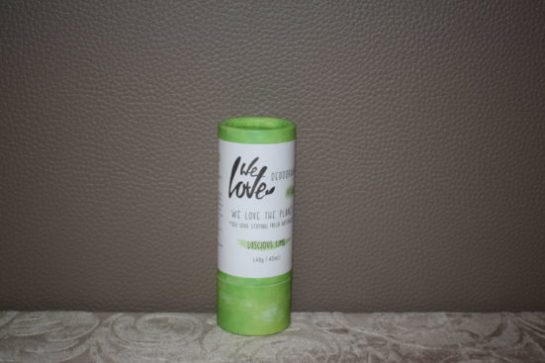 Review| we love luscious lime deodorant stick