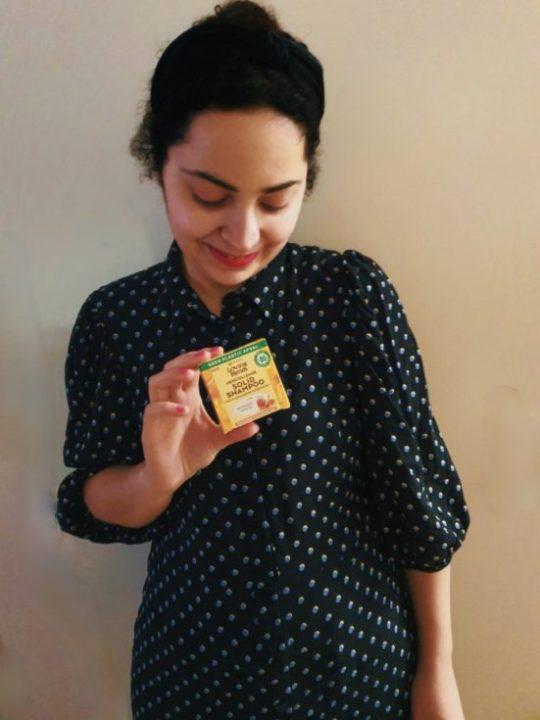 Review|Garnier Loving Blends Honing goud Shampoo Bar