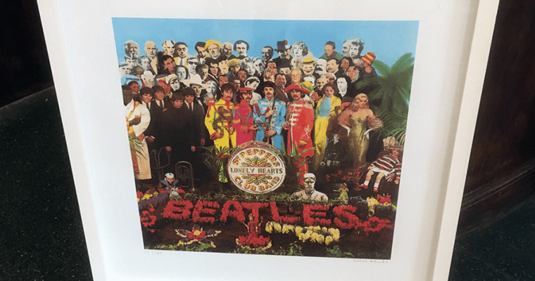 Get in line for signed Sgt. Peppers