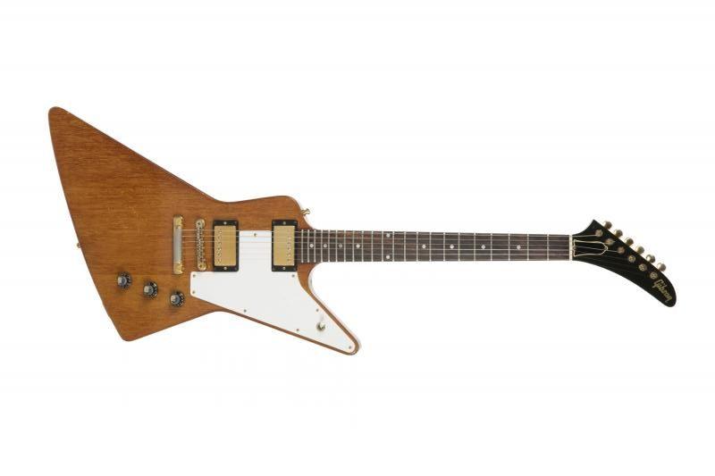 The Edge's 1972 Explorer. A failed guitar that made U2 huge.
