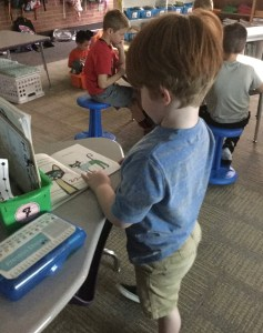 using flexible seating with primary students