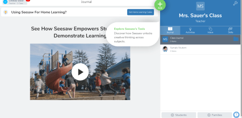 using seesaw in primary grades