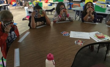 using UNO to express emotions
