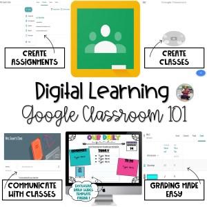 Google Classroom blog