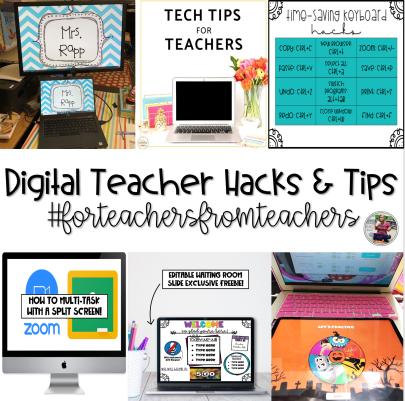 digital teacher hacks and tips