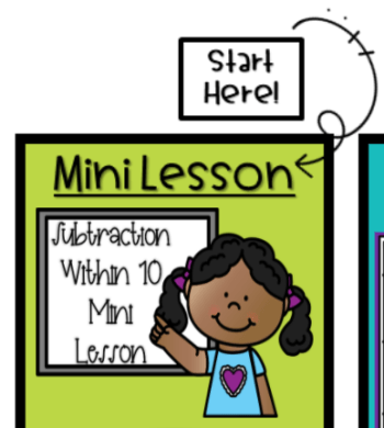 Subtraction Learning Path Mini Lesson