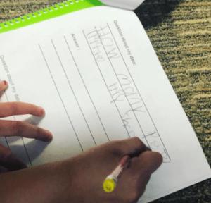 teaching about data first grade