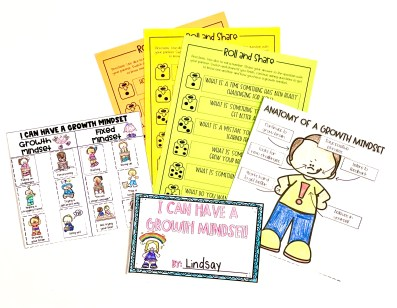 growth mindset activities for primary classrooms