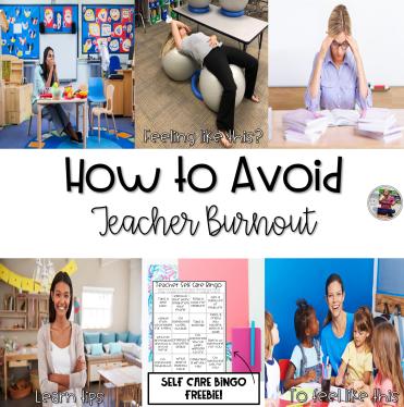 How to avoid teacher burnout blog post