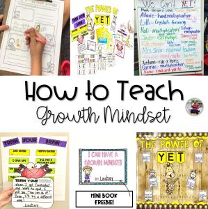 How to Teach Growth Mindset Blog Post