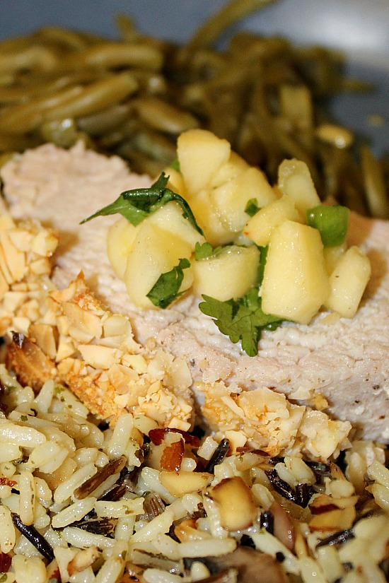Roasted Almond Pork Loin