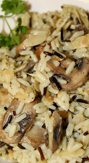 Less Boring Wild Rice