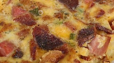 Bacon Hash Brown Casserole