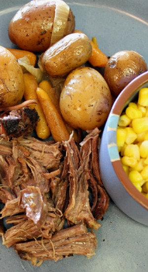 Slow Cooker Chuck Roast with Taters