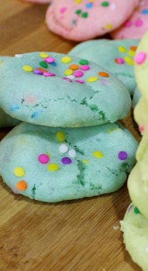 White Cake Mix Cookies