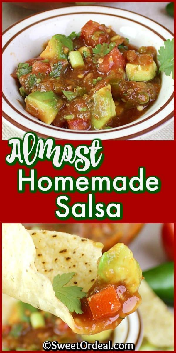 Almost Homemade Salsa
