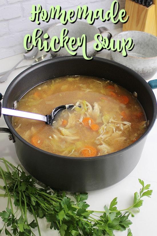 Pot of soup.