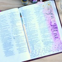 Journaling Bible- I am His!