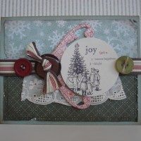 Vintage Shabby Chic Holiday