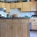 My Painted Subway Tile Backsplash Is Featured At Remodelaholic Today!