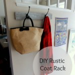 Trashtastic Tuesday- DIY Rustic Coat Rack