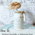 Trashtastic Tuesday- Mason Jar Makeover