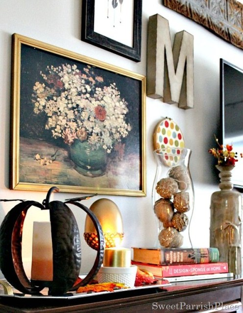 How to use thrifted and yard sale finds in your decor